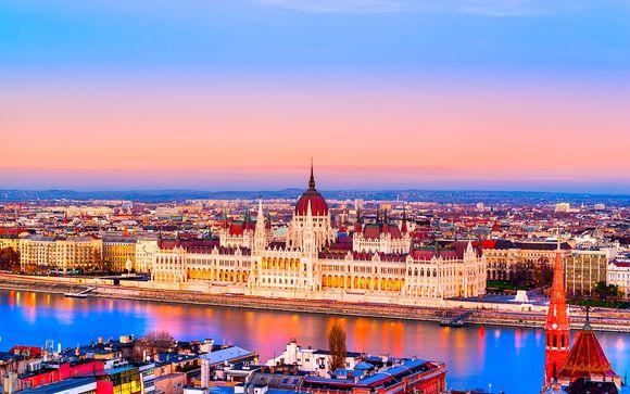 Hongrie Budapest - Boutique Hotel Budapest 4* à partir de 25,00 ?