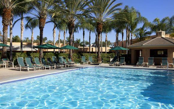 Poussez les portes du Sheraton Park Hotel at Anaheim 4* à Los Angeles