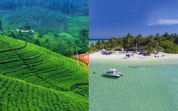 Circuit au Sri Lanka et séjour au Holiday Island Resort 4*