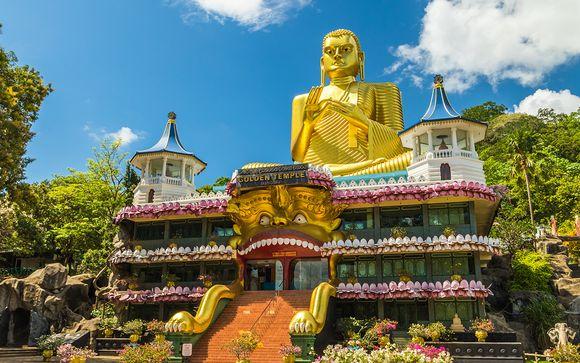 Circuit 4* Découverte des temples du Sri Lanka