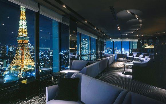 Poussez les portes de l'hôtel The Prince Park Tower à Nihonbashi Tokyo