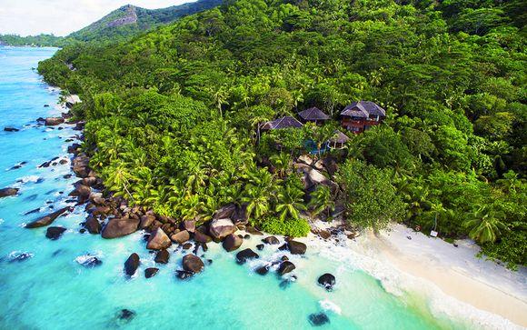 Hôtel Hilton Seychelles Labriz 5* et extension possible à Abu Dhabi