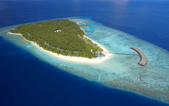 Votre extension à l'hôtel Filitheyo Island Resort 4* aux Maldives