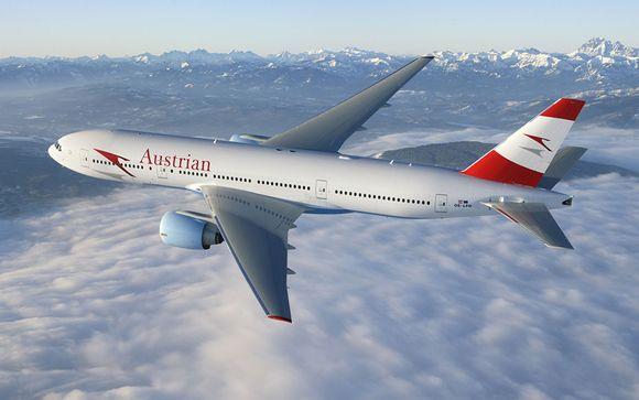 Envolez-vous avec la compagnie Austrian Airlines