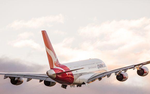 Offrez vous un vol avec la compagnie Qantas Airways