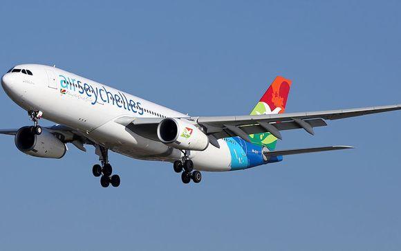 Offrez-vous le luxe de la classe Affaires avec Air Seychelles