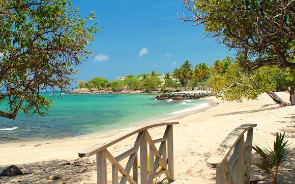 Karibea Resort Sainte Luce : Hôtel Les Amandiers ou Résidence Caribia