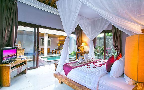 Hôtel De Uma Lokha Luxury Villas and Spa 4*