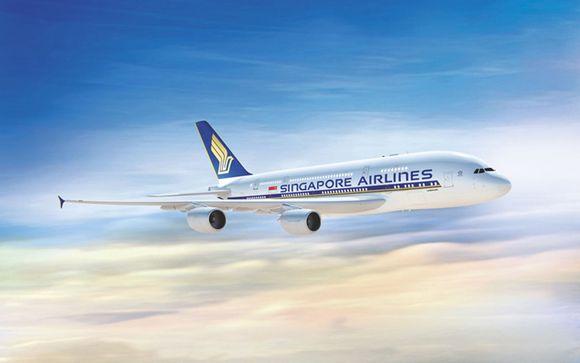 Offrez-vous le luxe de l'A380 avec Singapore Airlines entre Paris et Singapour