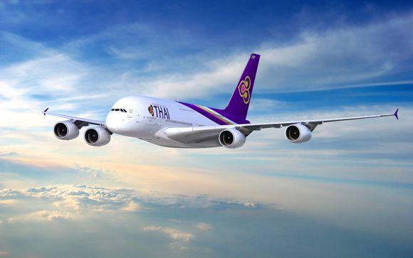 Offrez-vous le luxe de l'A380 avec Thai Airways