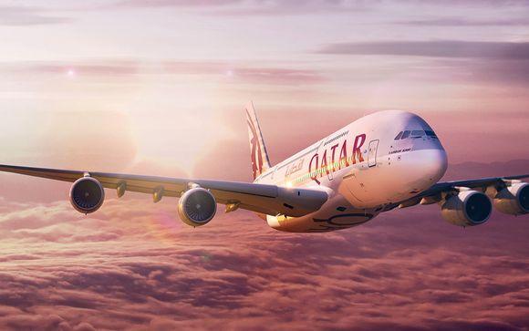 Offrez-vous le luxe de la classe Affaires avec Qatar Aiways