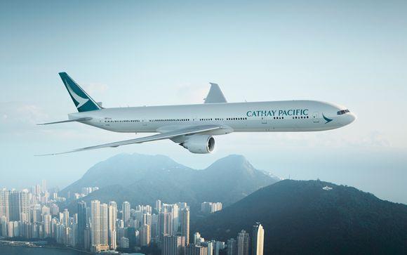 Offrez-vous le luxe d'un vol direct avec Cathay Pacific