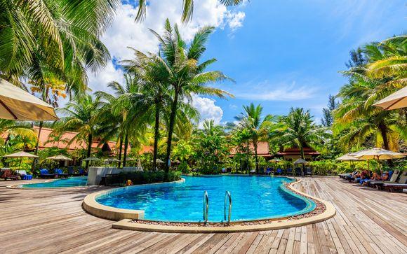 Plénitude tropicale en chalet Thaï authentique