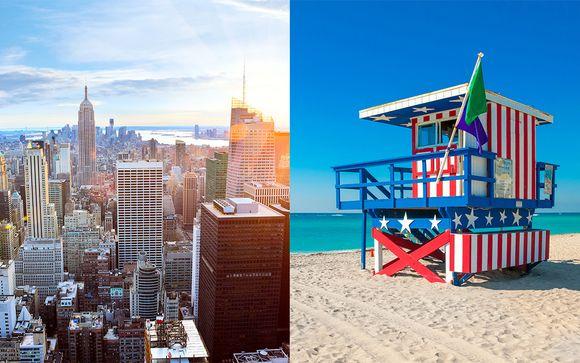 Combiné New York / Miami et Croisière possible aux Bahamas