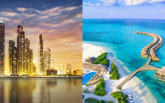 Combiné JW Marriott Marquis 5* et Hôtel Cocoon Maldives 5*
