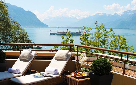 Hôtel Royal Plaza Montreux & Spa 5*