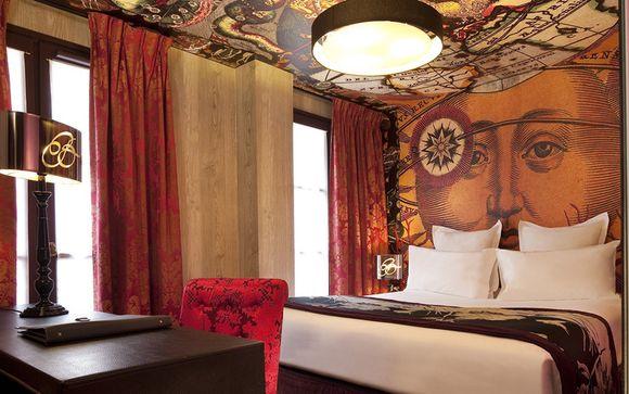 France Paris - Hôtel Le Bellechasse 4* à partir de 60,00 € (60.00 EUR€)