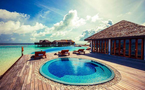 Maldives Malé - Hôtel Lily Beach Resort & Spa 5* à partir de 2 999,00 €