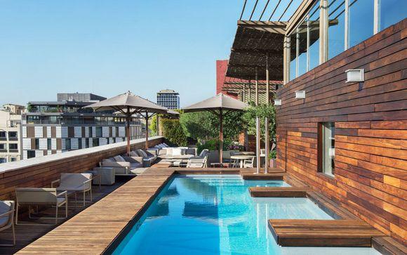 Adresse moderne avec Spa et rooftop