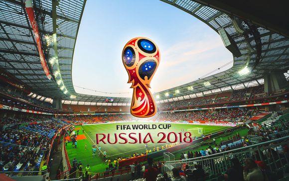 Coupe du Monde 2018 et Hôtel Garden Krasnoselskaya 4*