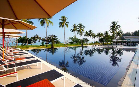 Hôtel Kantary Beach Villas & Suites 5*et séjour possible à Bangkok