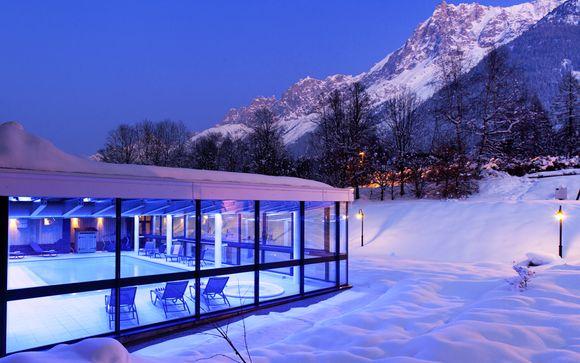 Design et vue imprenable sur le Mont-Blanc