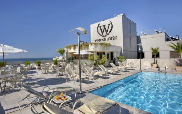 Poussez les portes de l'hôtel Windsor Plaza 4* à Rio de Janeiro
