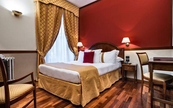 Poussez les portes de l'hôtel Best Western Plus Felice Casati 4*
