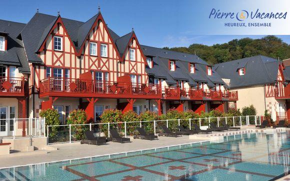 France Houlgate - Résidence Pierre & Vacances Premium & Spa Houlgate 4* à partir de 99,00 €