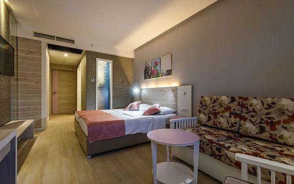 Poussez les portes de votre hôtel Park Bijela 4*