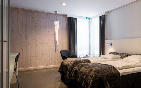 Poussez les portes du Downtown Camper by Scandic Stockholm et du Ice Hotel Jukkasjärvi