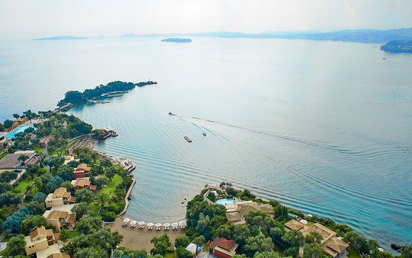 Hôtel Corfu Imperial Grecotel Exclusive Resort 5*
