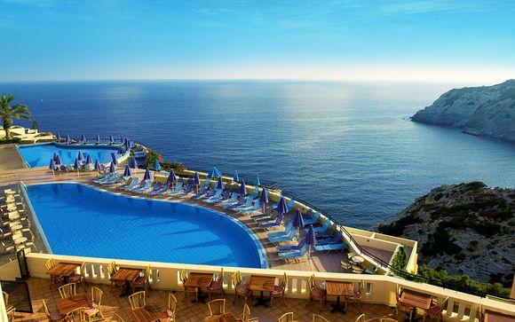Panorama de rêve en Méditerranée