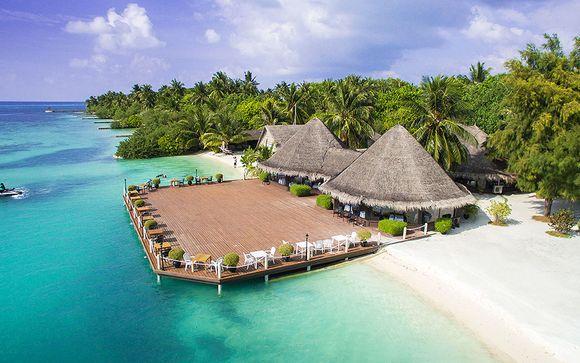 Votre séjour balnéaire à l'hôtel Adaaran Select Hudhuranfushi 4*