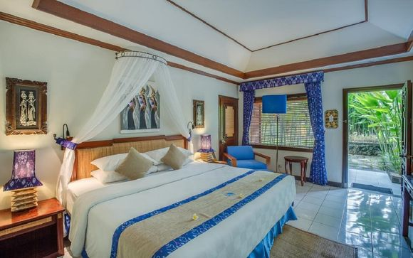 Poussez les portes de l'Hôtel Rama Candidasa 4*