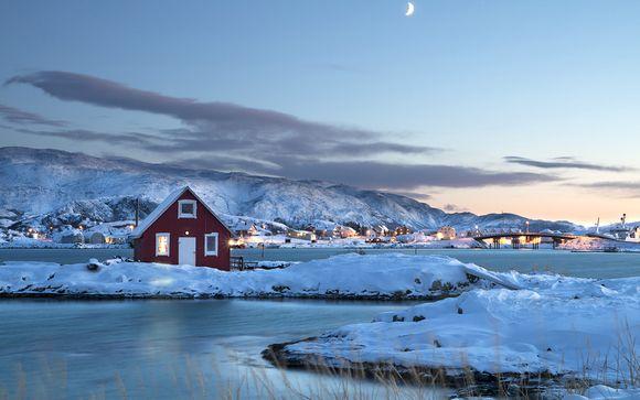 7 jours à travers les fjords enneigés