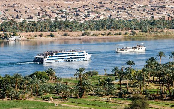 Entre échappée culturelle au fil du Nil et farniente en mer Rouge