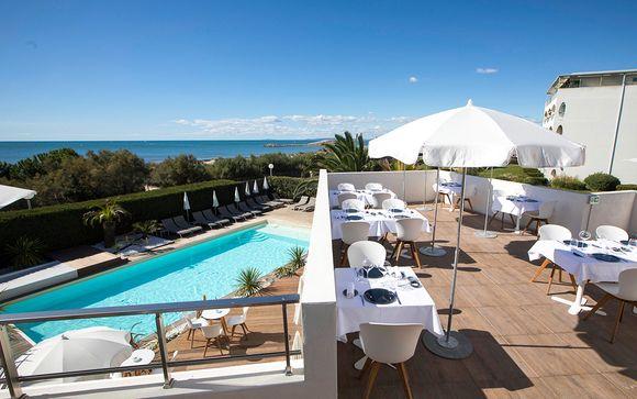 Boutique-hôtel face à la Méditerranée