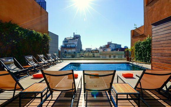 Espagne Barcelone - Hôtel Europark à partir de 40,00 € - Barcelone -