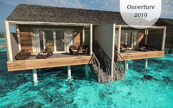 Nouvelle adresse paradisiaque en classe Affaires ou Qsuite - Malé -