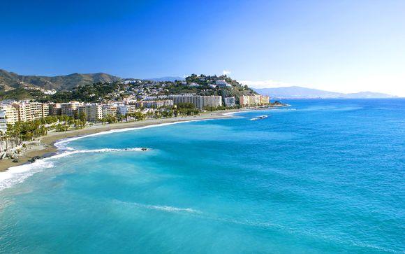 Carte Espagne Andalousie Almunecar.Top Clubs Almunecar Playa 4 Voyage Prive Jusqu A 70