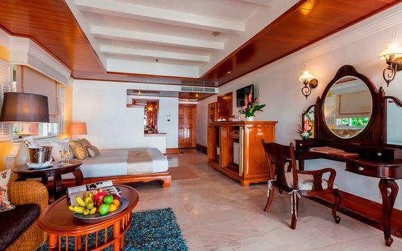 Poussez les portes de l'hôtel Thavorn Beach Village and Spa
