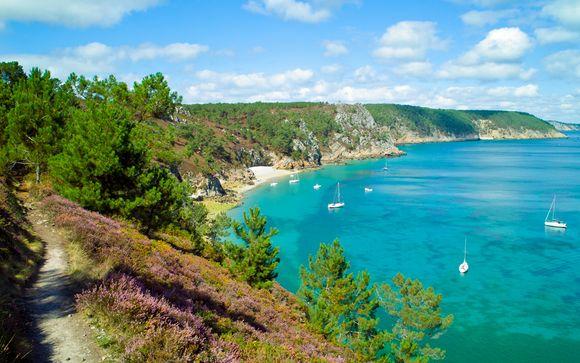 Les côtes bretonnes en famille