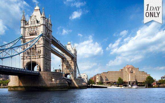 Escapade so british face au Tower Bridge