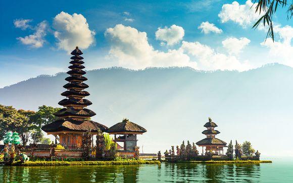 Combiné Les perles de Bali en quatre temps