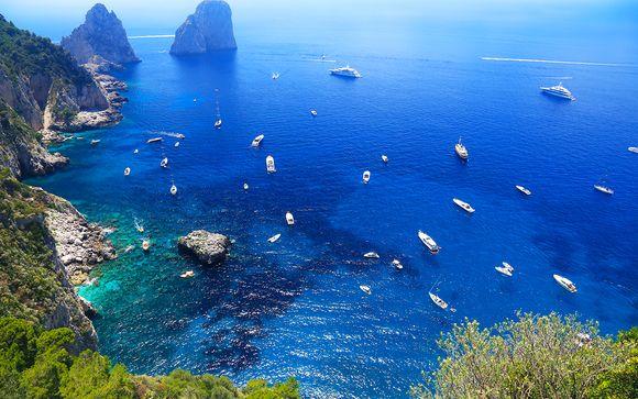 Tour dans le golfe de Naples