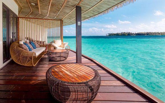 Refuge paradisiaque face à l'océan Indien  - Malé -