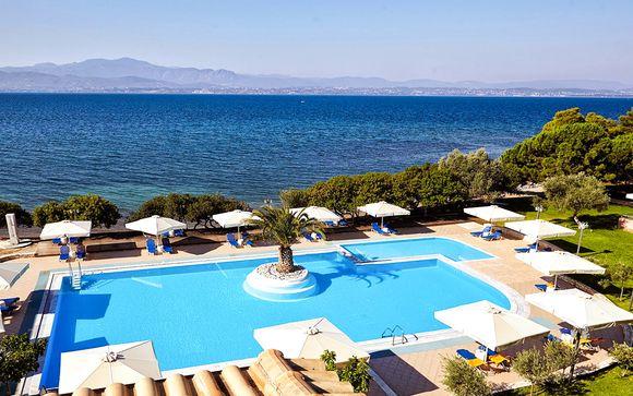 Douce quiétude face à la mer Égée