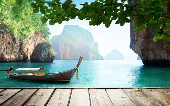 Évasion tropicale dans un cadre de rêve