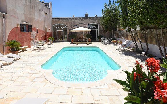 Poussez les portes de l'hôtel Macchiola & Corti del Mito Relais à Spongano